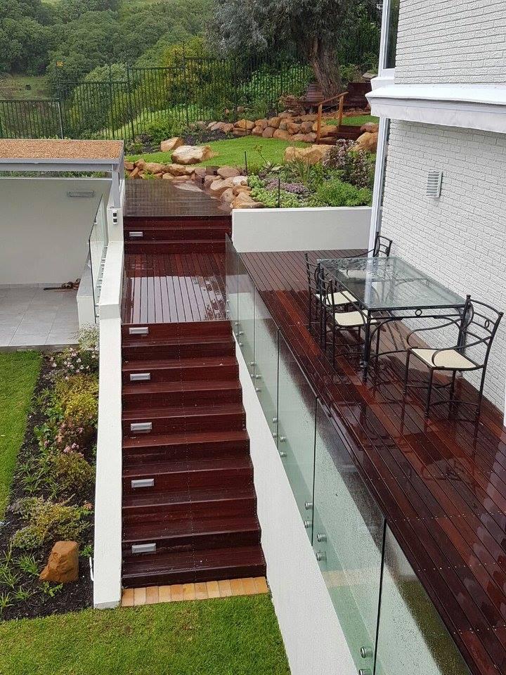 Massaranduba Deck and stairs